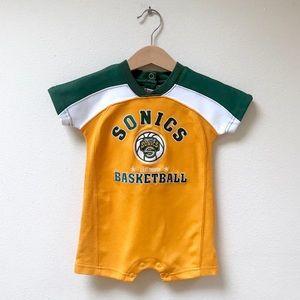 Seattle SuperSonics NBA Onesie